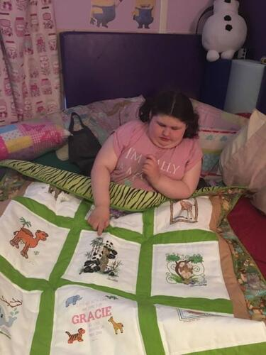Photo of Gracie Rs quilt