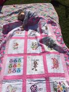 Lucy R's quilt