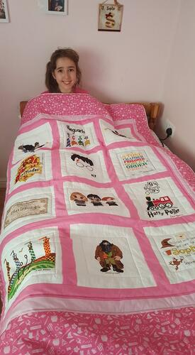 Photo of Sophie Gs quilt