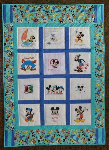 Photo of Levi Bs quilt