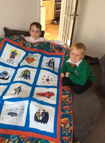Photo of Charlie Cs quilt