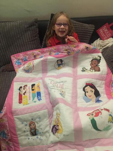 Photo of Lillie As quilt