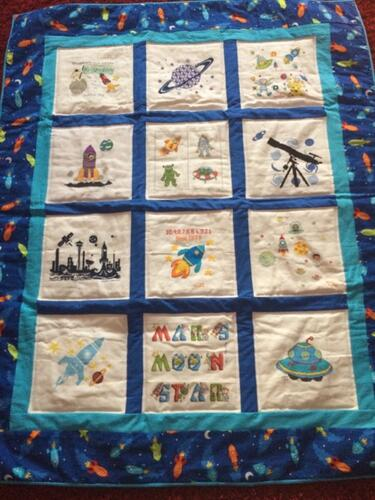 Photo of Brandon Bs quilt