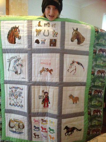 Photo of Emily Ls quilt