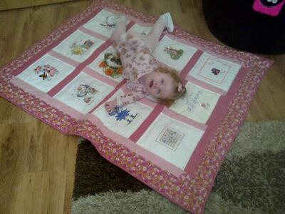 Photo of Blisses quilt