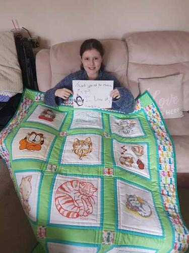 Photo of Erin As quilt