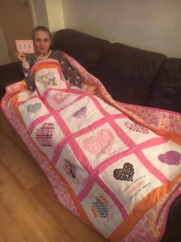 Photo of Megan Ts quilt