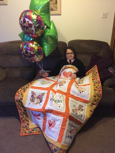 Photo of Caitlin Rs quilt