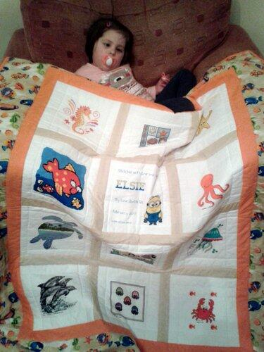 Photo of Elsie Ps quilt