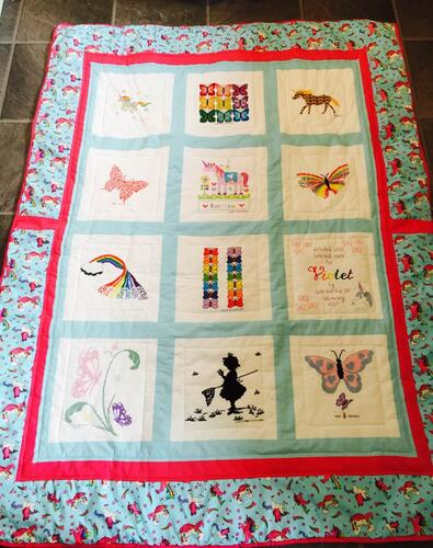 Photo of Violet Gs quilt