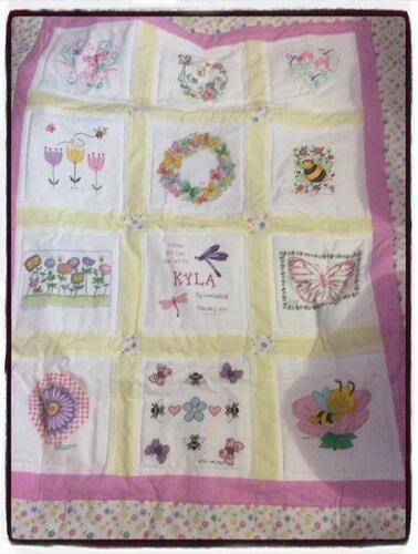 Photo of Kyla Bs quilt
