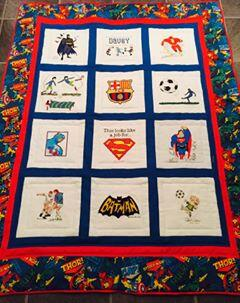 Photo of Davey Cs quilt