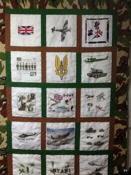 Photo of Ryan Gs quilt