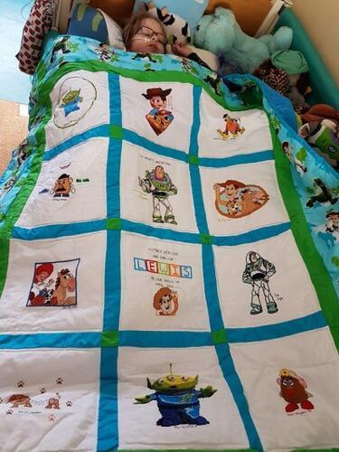 Photo of Lewis Ts quilt