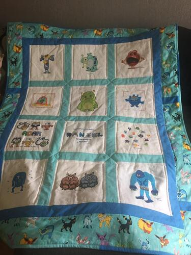 Photo of Daniel Rs quilt