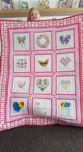 Photo of Emily Bs quilt