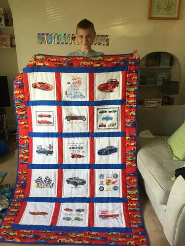 Photo of Aston Bs quilt