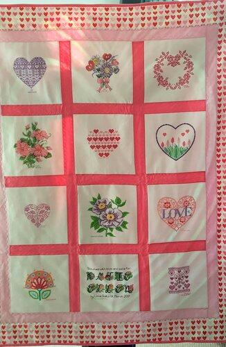 Photo of Katie-Ellens quilt
