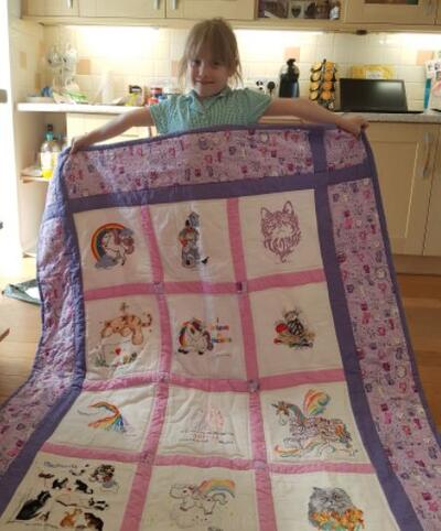 Photo of Sophie Ss quilt