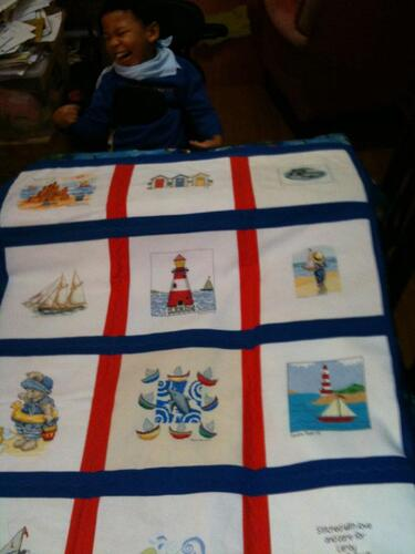 Photo of Leroy Gs quilt