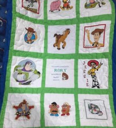 Photo of Rory Ss quilt