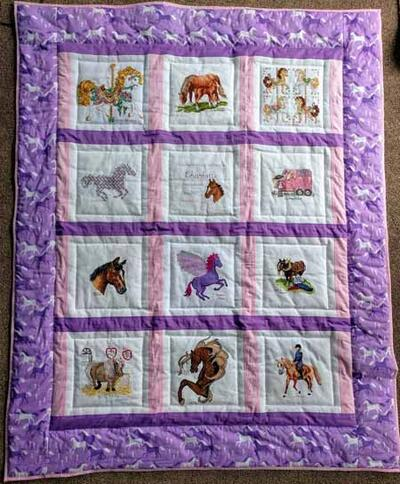 Photo of Charlotte Ss quilt