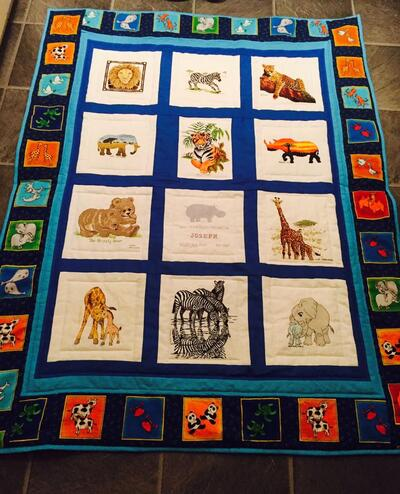 Photo of Joseph Ss quilt