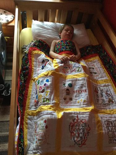 Photo of Stevie Ls quilt