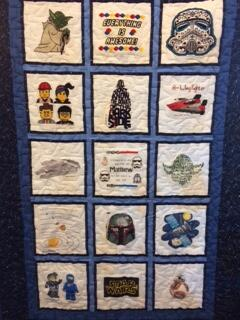 Photo of Matthew Rs quilt