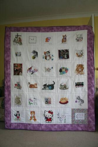 Photo of Faye Ts quilt