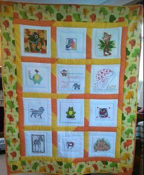 Photo of Gabriellas quilt