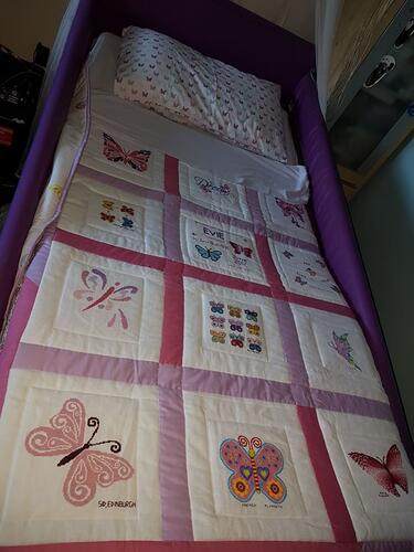 Photo of Evie Ds quilt