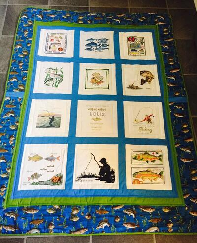 Photo of Louis Gs quilt