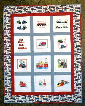 Photo of Isaac Ks quilt