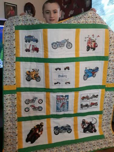 Photo of Bailey Hs quilt