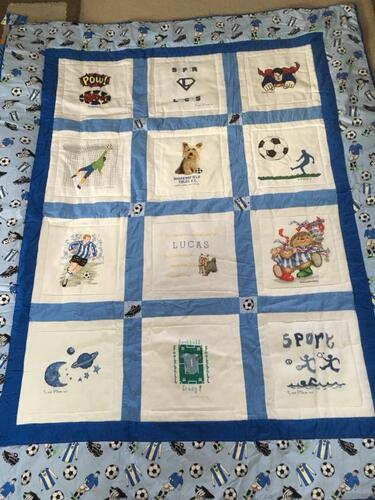 Photo of Lucas Ts quilt