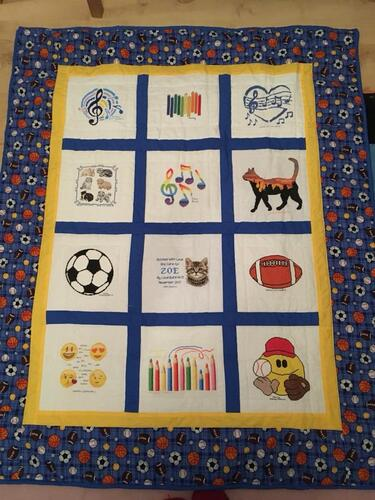 Photo of Zoe Ts quilt