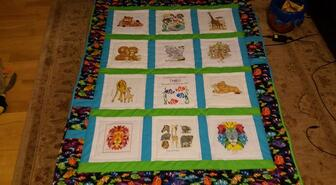 Theo B's quilt