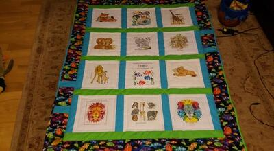 Photo of Theo Bs quilt