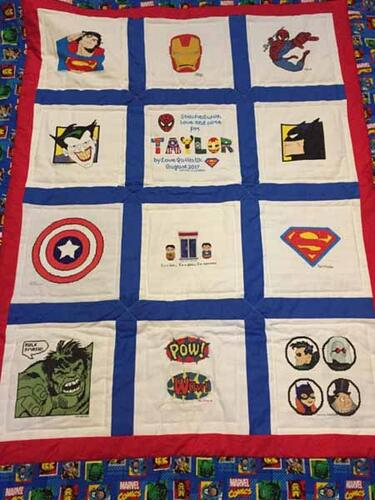 Photo of Taylor Ks quilt