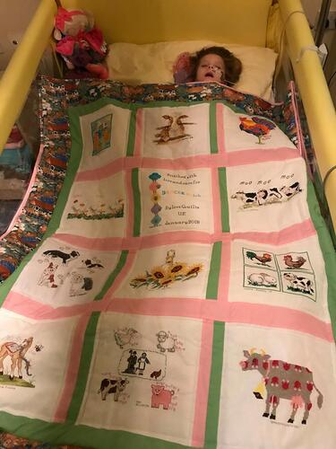 Photo of Darcee Ella Cs quilt