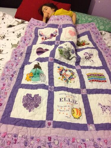 Photo of Ellie Ps quilt