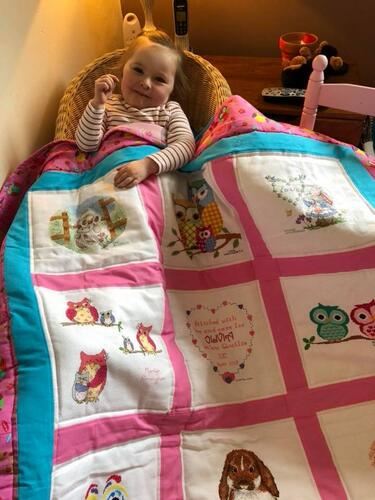 Photo of Olivia Ws quilt