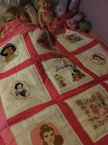 Photo of Bethany Js quilt