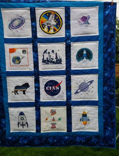 Photo of Cian Rs quilt