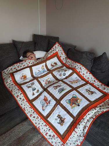 Photo of George Ws quilt