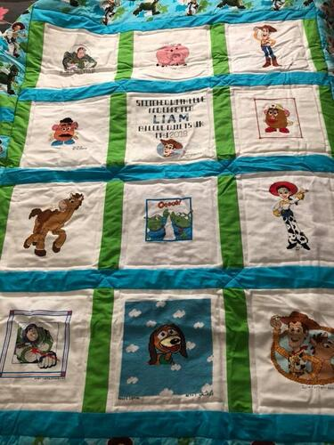 Photo of Liam Js quilt