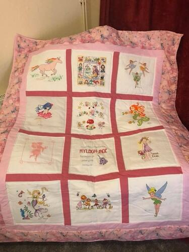 Photo of Ryleigh-Jades quilt