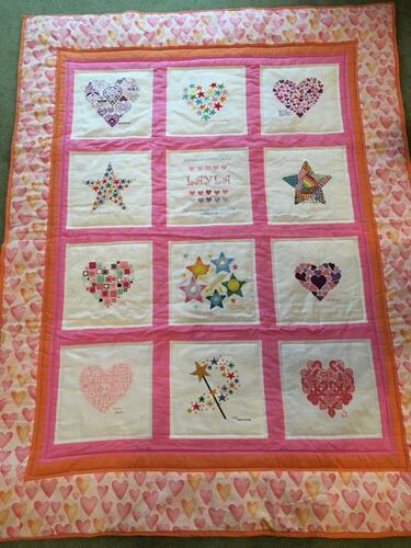 Photo of Layla Ms quilt