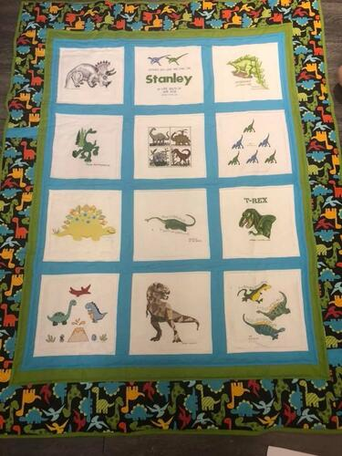 Photo of Stanley Js quilt